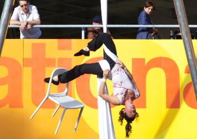 Fullstop aerial acrobatics