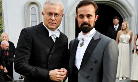 Alexander and Evgeny Lebedev