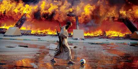 Fire in Libyan war