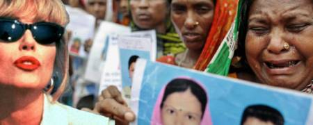 Mothers wait in hope at Rana Plaza